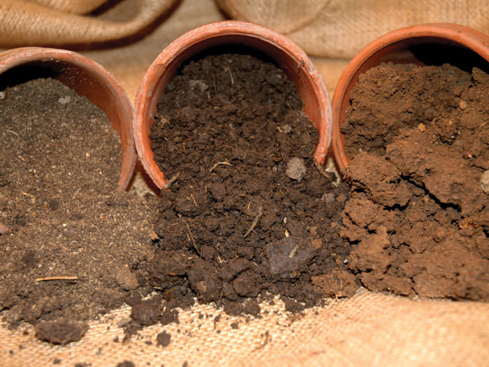 how to make loam from clay
