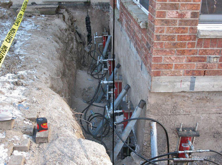 Foundation Pier Systems In Mississauga, Toronto, Brampton
